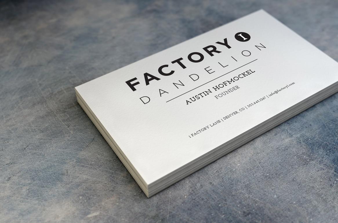 FACTORY 1 | DANDELION